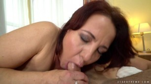 mature MILF Red Mary Lusty Force