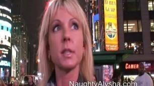 Naughty Alysha - Nice Blonde nyc