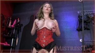 Mistress T - chastity cruelty porn hd