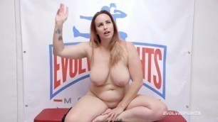 bella rossi woman with natural forms gets fucked in the ring evolvedfights