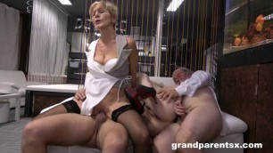 grandparentsx hardcore grand slam foursome hot porn