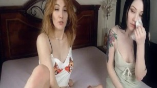Gamy Lesbians Engaged To A Lecherous PerformanceLive