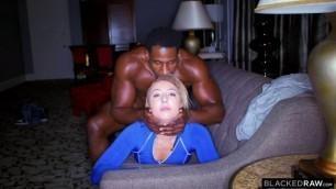 BlackedRaw Aubrey Thomas gorgeous body Freaked On