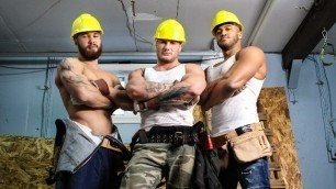 Men - At Work Design My Ass Jason Vario And Joey Mentana And Morgan Blake And Thyle Knoxx And William Seed