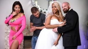 Real Wife Stories -  Hot Wedding Shower Bridgette B And Moriah Mills