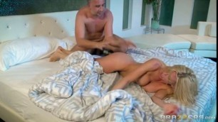 While My Husband Was Passed Out Keiran Lee Alexis Fawx Suck Pussy And Dick