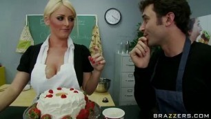 sophie dee on cooking lessons big tits college boobs hard sex