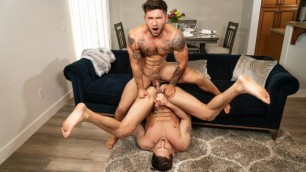Roman Todd Is Bent Over And Taking Vadim Black Deep Inside oO His Hot Butt