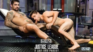 Men - Just Dick League : A Gay XXX Parody Part 1 Johnny Rapid Fucked up by A Ryan Bones
