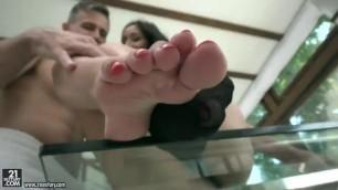 Sweet Hot Girl Darcia Lee Sheer Socks Beauty