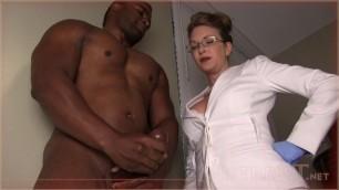 Mistress T - black bull humiliating initiation