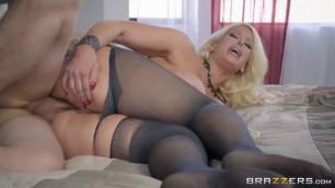My Stepmothers sweet big breast Pantyhose Alura Jenson Jessy Jones Sex Porn Beautiful Girl