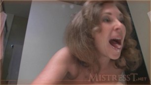 Mistress T - all day tease for little man