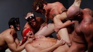 Men - Masked Men Fuck Asshole Christopher Daniels , Cole Streets , Micah Jones , Mitch Vaughn , Phenix Saint