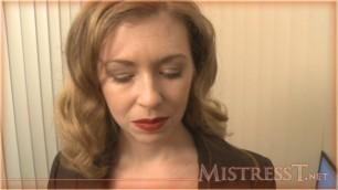 Mistress T - Office Punishment sex porno