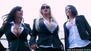 brazilian ass and tits In Reservoir Sluts Lisa Ann Nikki Benz
