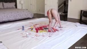 Melissa Moore Sexy Artists Body Paint Fuck 2016 Mofos All Sex Blowjob Big Tits Teens Hardcore sweet angel porn Pornstar POV 1080