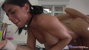 Beautiful Shaved Pussy Alexis Crystal Canela Skin Big Booty Latina Oiled Ass Workout