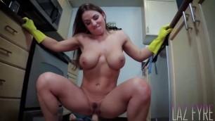 Porn Wife Forced Mallory Sierra Banging Dish Washing Mom