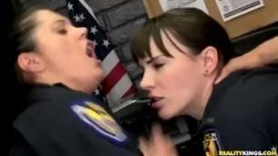 Dana Dearmond and her partner Francesca Le fucked by bad guys hard fuck