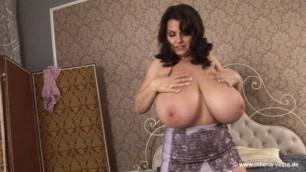 Milena Velba - mauve girdle real sex video