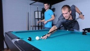Men - Pool Shark Looking For A Victim Brandon Lewis And Johnny Rapid