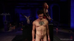 Blonde Gets Fucked Hard Maitresse Madeline Marlowe The Maitresse Milks Virgin Prostate And Punishes Dripping Cock Divinebitches