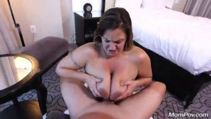 Mompov Violet Thick Ass Milf With Hourglass Figure Milf Sucks Dick