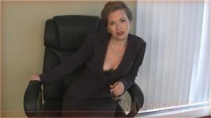 Mistress T - boss blackmails pay pig