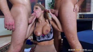 Britney Amber anal double penetration big tits HD Porn hot mom stuck