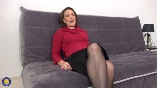 Anya anal French mature MIlF