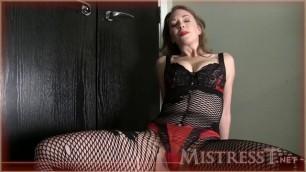 Mistress T - tease game A sex video