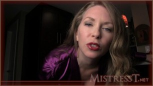Mistress T - manipulated into cuckold marriage