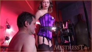Mistress T - the cane for punishment