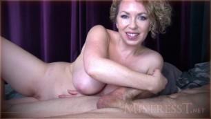 Mistress T - nude milking top porn