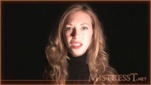 Mistress T - hypno stroking slave