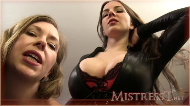 Mistress T - erotic assassin breast smother