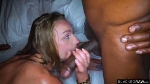 BlackedRaw Angel Emily Takes three black dicks No Vacancy