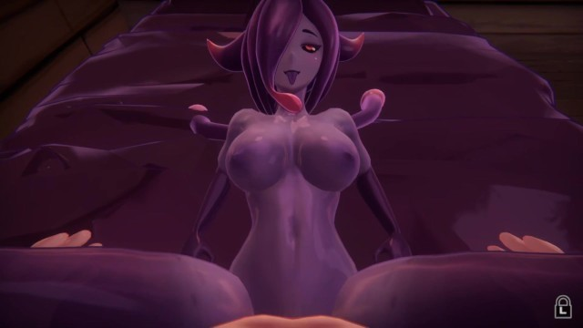 Sex with a Purple Demon. she Loves Semen.