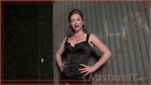 Mistress T - new prison bitch