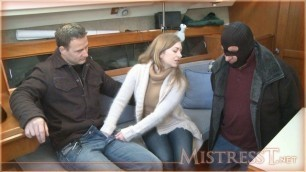 Mistress T - Cuck in a boat