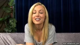 Kayden Kross - Spectacular Girl LiveChat 5