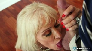 Leah L'Amour cuckold granny Her hubby watches.