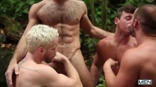 Men Tarzan A Gay XXX Parody sex video Part 3