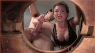 Mistress T - toilet cuckolds life