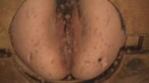 Mistress T - Locked in our toilet