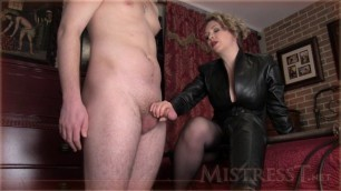 Mistress T - mind fucked into loving boots