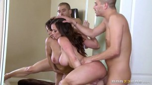 Join The Lust Army Big Tits Brunette Kendra Lust Xander Corvus The Great Fuck panties sex