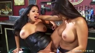 Hot and Mean Kiara Mia and Nina Mercedez Sexy Girls sucking cock