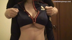 Thai girl An big tits grope navy milk - big boobed porn Candiddingdongs